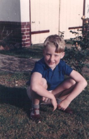 Stephen Jones, age 7, summer 1961