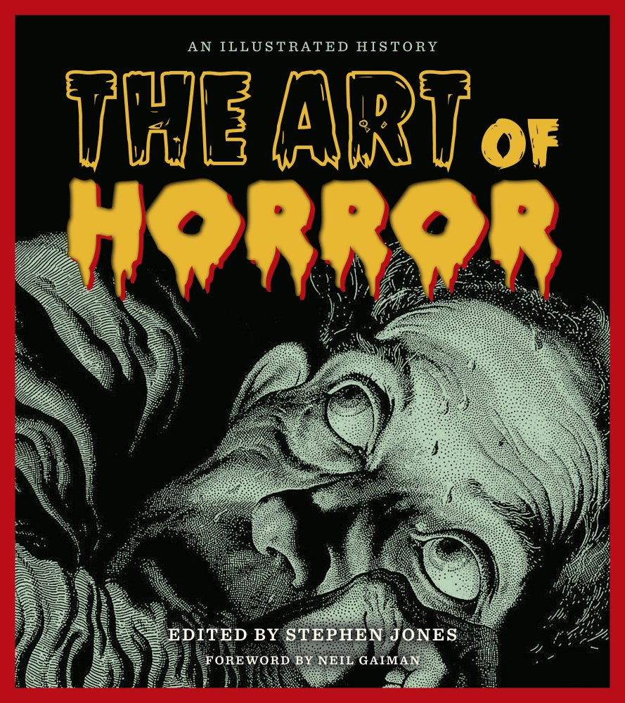Book Cover Illustration History : Stephen jones the art of horror an illustrated history