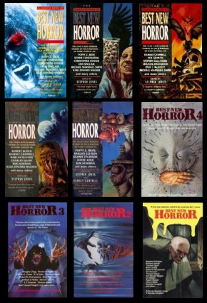 The Mammoth Book of Best New Horror volumes 1 to 9