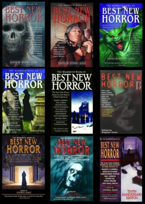 mammoth book of best new horror collection - Various
