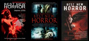 The Mammoth Book of Best New Horror volumes 19 to 21