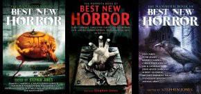 The Mammoth Book of Best New Horror volumes 22 to 23