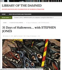 Library of the Damned: An Exploration and Celebration of Horror Literature