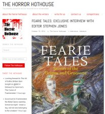 The Horror Hothouse (October 2014)