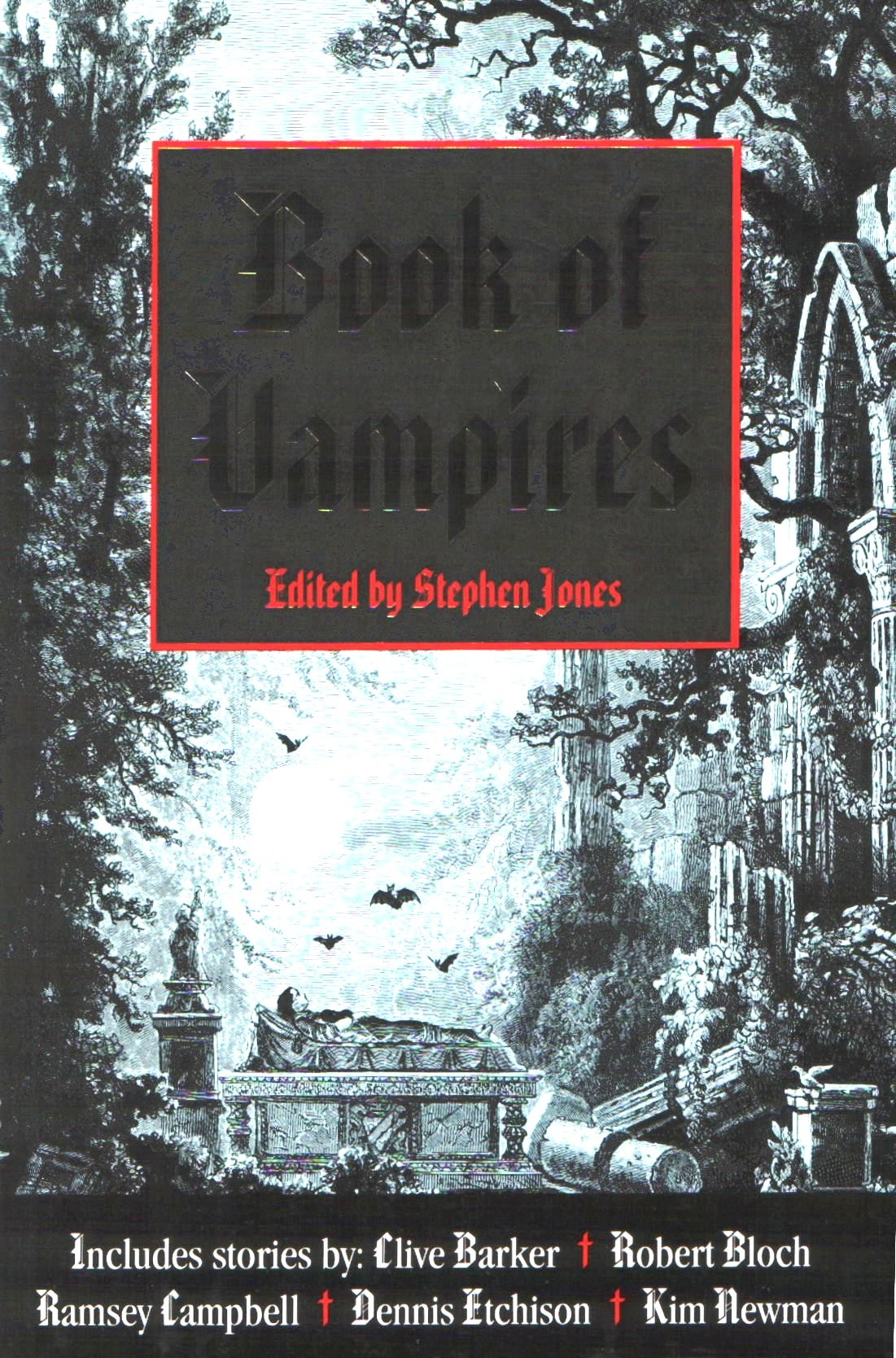 Book By Phyllis Vega Trish Macgregor: Stephen Jones: The Mammoth Book Of Vampires (1992