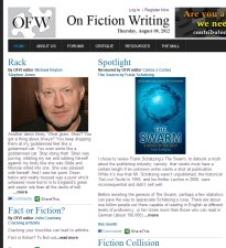 On Fiction Writing (August 6, 2012)