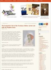 Angela Slatter Website (March 9, 2011)