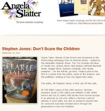 Angela Slatter Website (September 16, 2013)