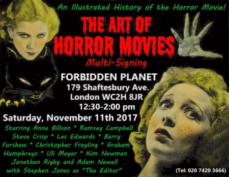 Stephen Jones: The Art of Horror Movies: An Illustrated