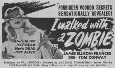 I WALKED WITH A ZOMBIE (1942)