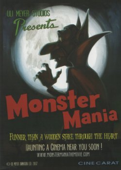 Max Van Helsing and the Curse of the Bloodstone (In Development) (aka MonsterMania!)