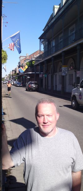 Stephen Jones in New Orleans