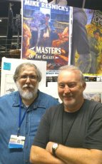 Stephen Jones with publisher Bob Garcia