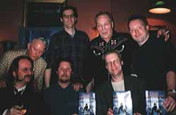 launch of Dark Detectives in London. February 4th 2000
