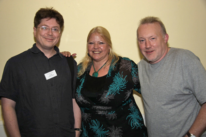 How Not to Get Published (An Idiot's Guide) panel: Marc Gascoigne, Jo Fletcher and Stephen Jones
