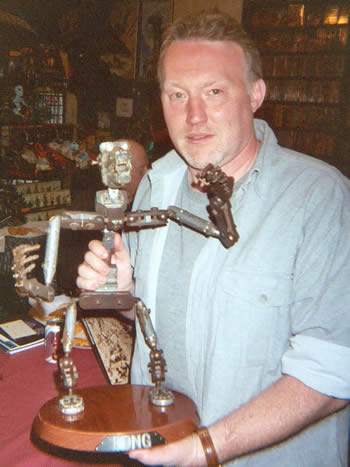 original skeletal armature for the 1933 King Kong