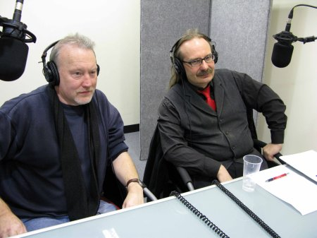 Recording Carnival of Souls commentary, London, 1 December 2008