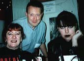 Nancy Kilpatrick, Stephen Jones & Catilin R. Kierman World Fantasy Convention, Monterey, California (1998)