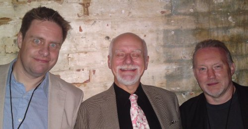 Paul Cornell, Chris Claremont and Stephen Jones