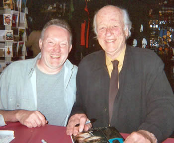 Stephen Jones and Ray Harryhausen (Dark Delicacies, April 18th, 2004)