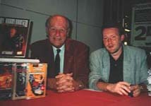 Ray Harryhausen & Stephen Jones Signing at London's National Film Theatre (1993