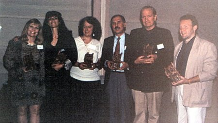 Bram Stoker Awards 1992, New York, Nancy Holder, Kathe Koja, Melanie Tem, David Morrell, Gahan Wilson, Stephen Jones
