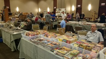 Dealers' Room at 2014 Windy City Pulp & Paper Convention