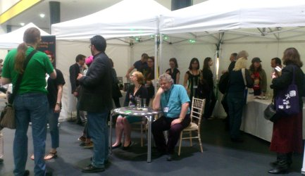Helen Marshall and Robert Shearman signing