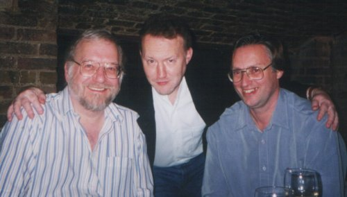 The Mammoth Book of Best New Horror 10th Anniversary Party, Hugh Lamb, Stephen Jones and Mike Ashley, London, October 1999