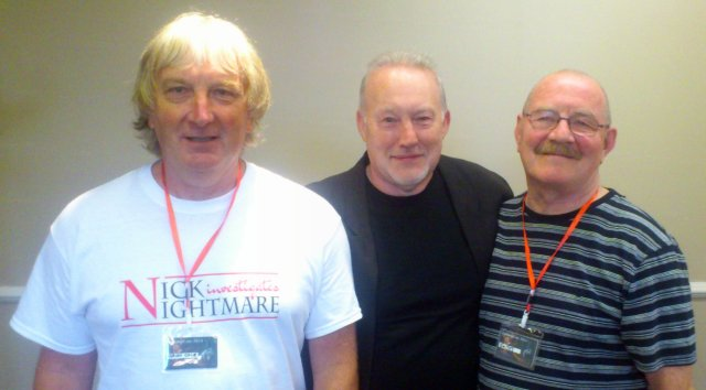 Adrian Cole, Stephen Jones and Jim Pitts