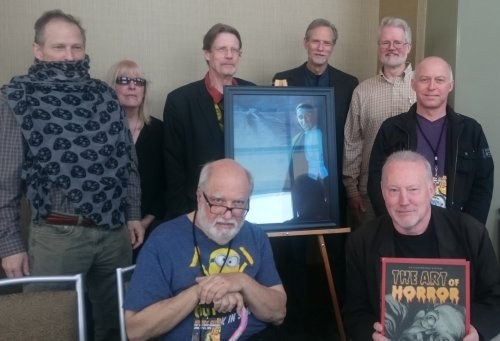Signing The Art of Horror: An Illustrated History at Windy City Pulp and Paper Convention, April 23, 2016