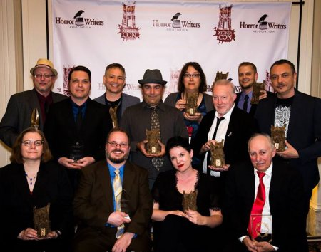 Stephen Jones and the other Bram Stoker Award recipients