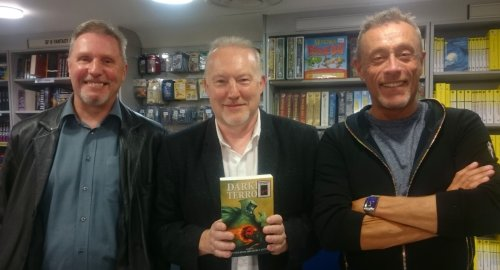 Les Edwards, Stephen Jones and Christopher Fowler
