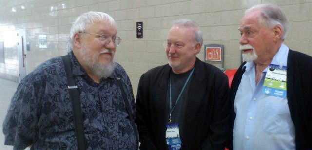 George R.R. Martin, Stephen Jones and Robert Silverberg