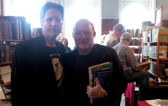 Randy Broecker & Stephen Jones, Hand and Flower Book Fair, May 22, 2014