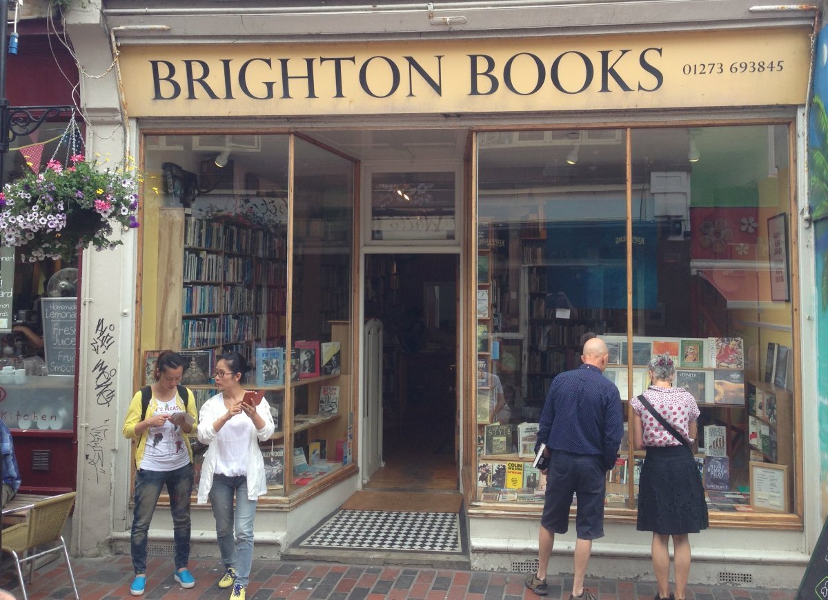World Fantasy Convention 2013 -- Brighton Bookstores